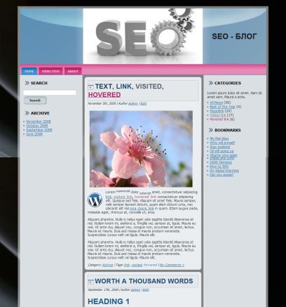 developer2 шаблон на wordpress