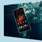 Абсолютно водонепроницаемый Sony Xperia ZR