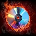 Запись фото на диск